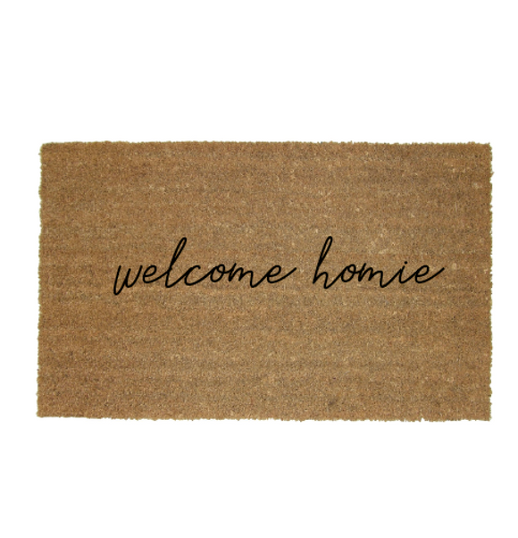 Welcome Homie Doormat