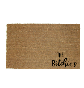 Family Name  Door Mat