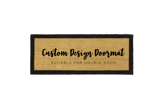 Large - Custom Design Door Mat