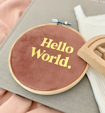 Hello World Mini Hoop