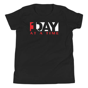 One Day at a Time Youth Short Sleeve T-Shirt