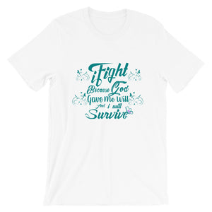 iFight (Turquoise Edition) Short-Sleeve Unisex T-Shirt