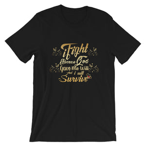 iFight (Gold Edition) Short-Sleeve Unisex T-Shirt