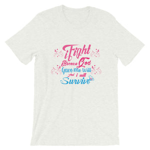 iFight (Pink Edition) Short-Sleeve Unisex T-Shirt