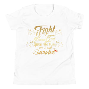 iFight (Gold Edition) Youth Short Sleeve T-Shirt