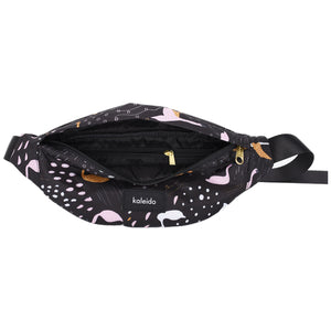 Black Swans Convertible Sling Bag / Hip Pack