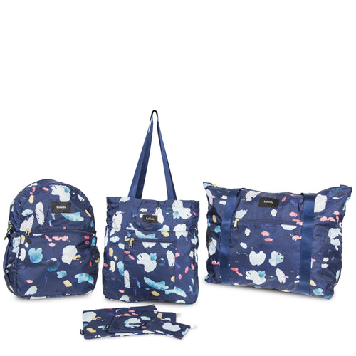 Navy Tidal Travel Essentials Bundle
