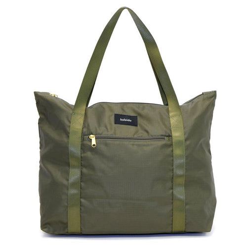 Safari Green Packable Tote Bag