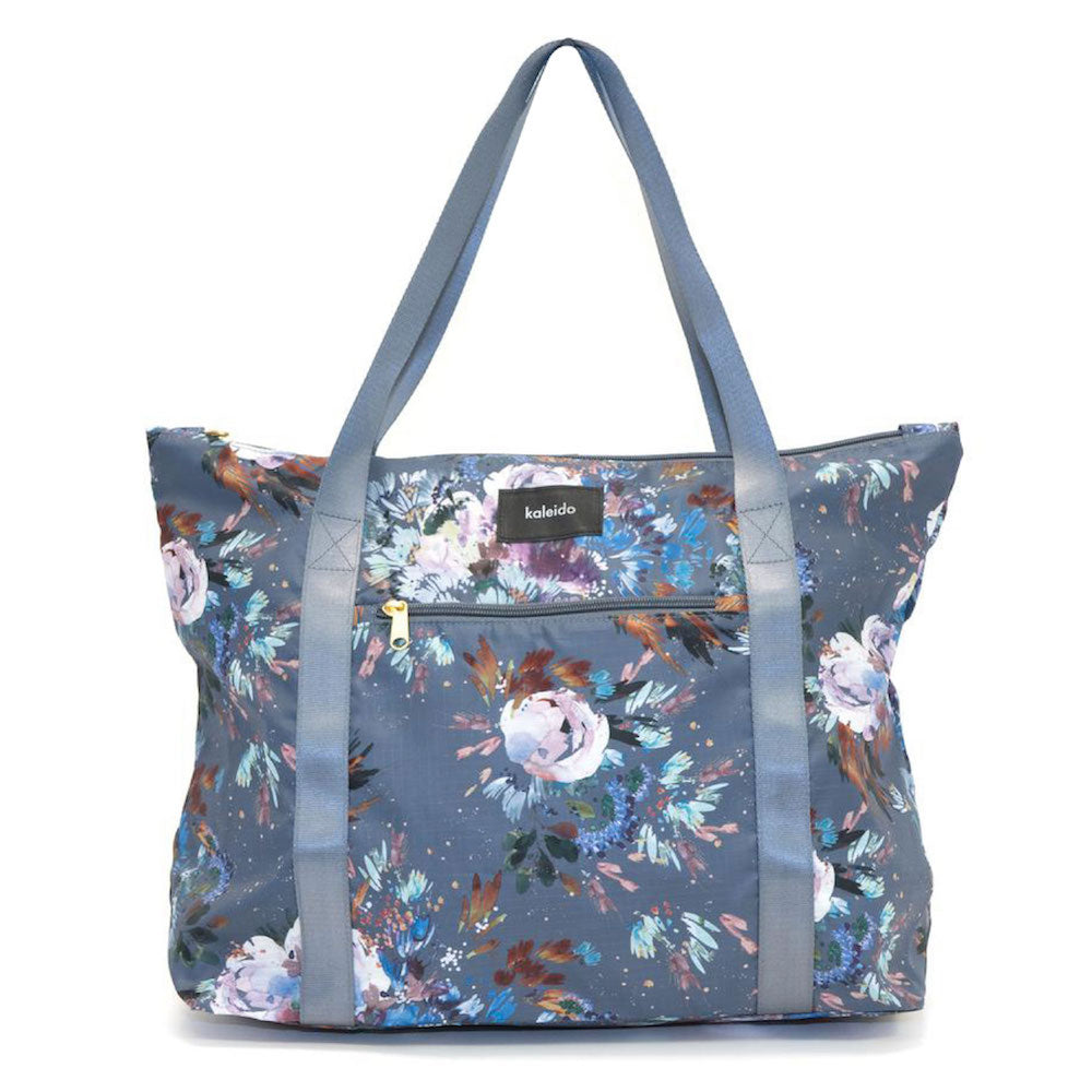 Slate Garden Packable Tote Bag