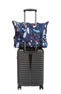 Navy Tidal Convertible Tote Bag