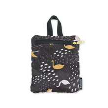 Black Swans Packable Everyday Shopper Tote