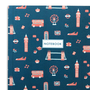 Notebook - London Theme