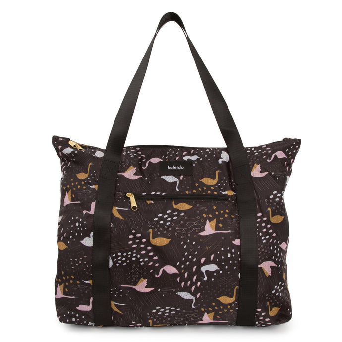 Black Swans Convertible Tote Bag