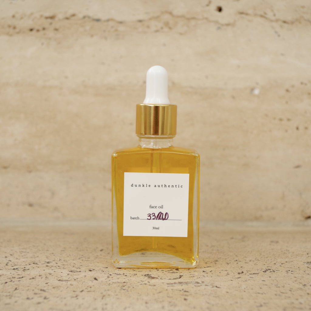 dunkle authentic face oil