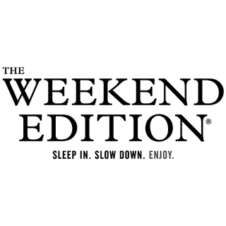 the weekend edition logo