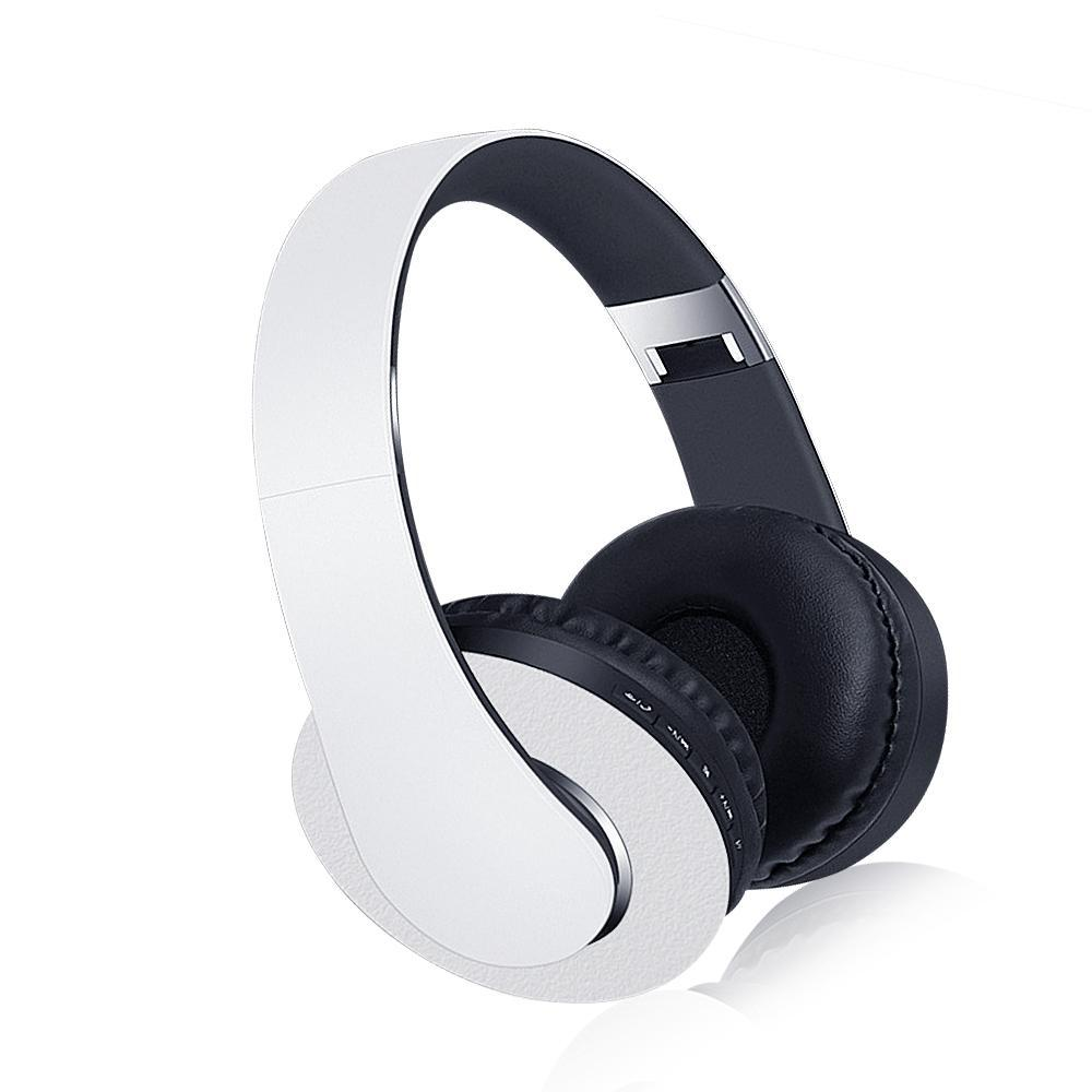 9e9e3bef69c Foldable Hifi Stereo Bluetooth Headphone Wireless & Wired Music Headset w/  Mic Mp3 FM Radio TF Aux Hands-free for Phone PC