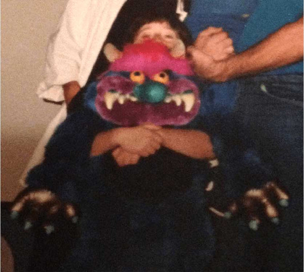 my pet monster with little child