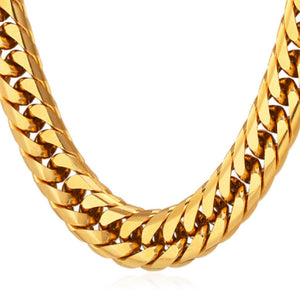 13 mm, 18K Gold Cuban Link