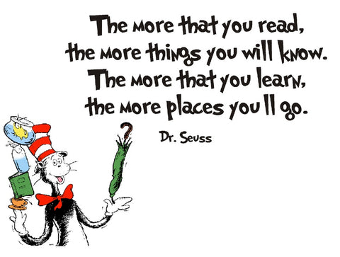 Bedtime stories for kids, Dr Seuss, the more that you read