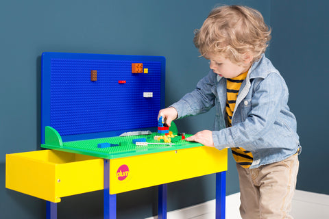 Build-It Construction Table in action