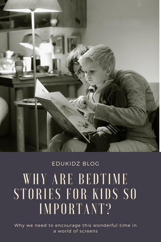Why are bedtime stories so important - pinterest