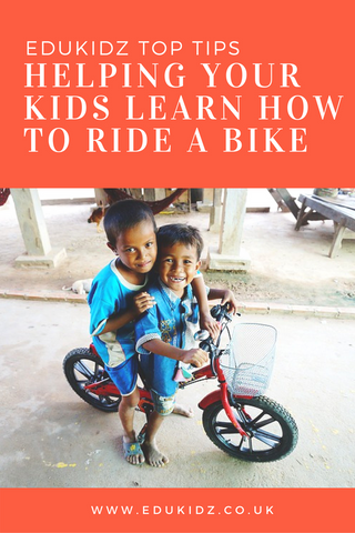 Top tips to help your child learn how to ride a bike