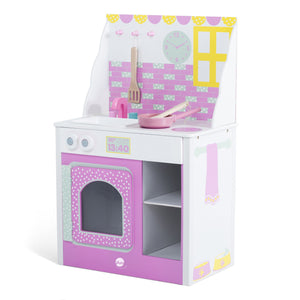 Cabin Wooden Play Kitchen - edu Kidz
