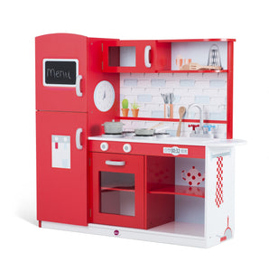 Terrace Wooden Play Kitchen - edu Kidz