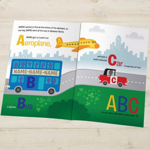 Personalised Alphabet World Book - edu Kidz