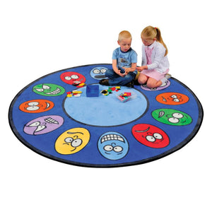 Emotions Learning Rug - edu Kidz
