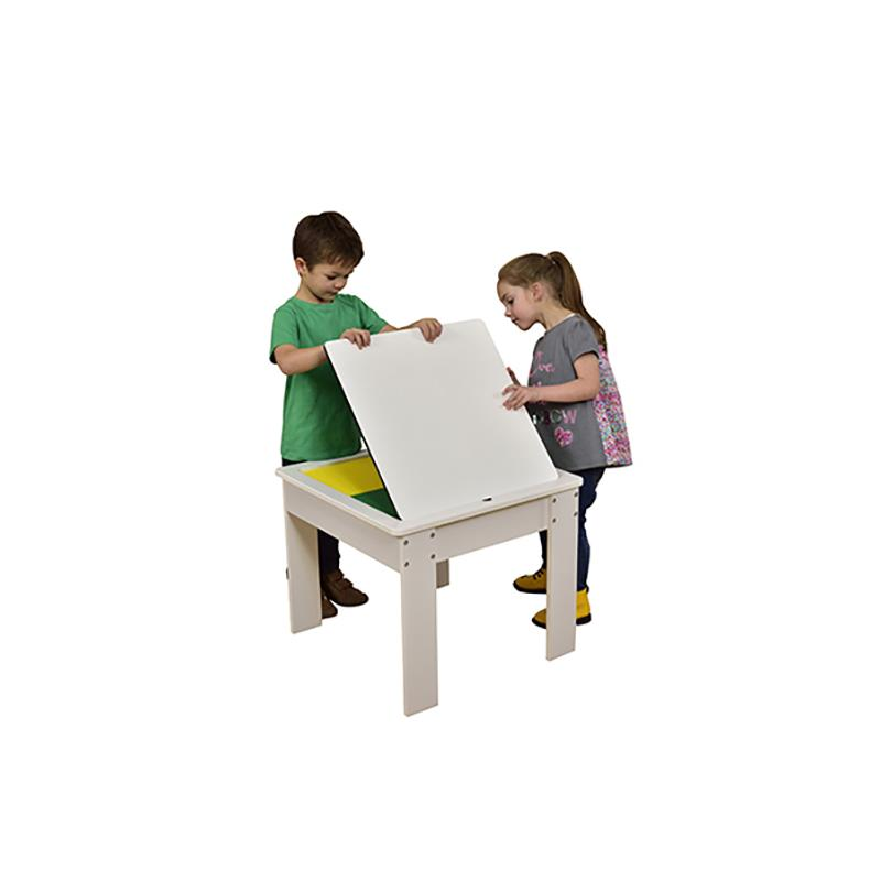Wooden Activity Table with Reversible Top - edu Kidz