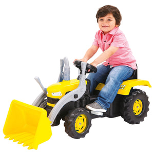 Dolu Ride On Yellow Digger With Shovel Loader