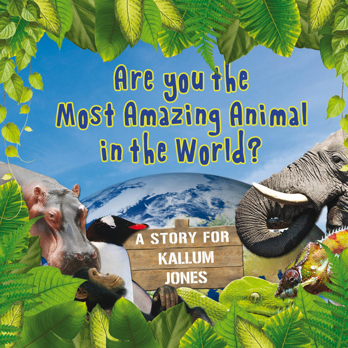 Personalised Most Amazing Animal Book - edu Kidz