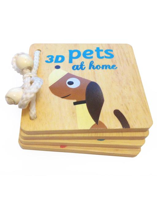 3D Book Of Pets With AR Technology - edu Kidz