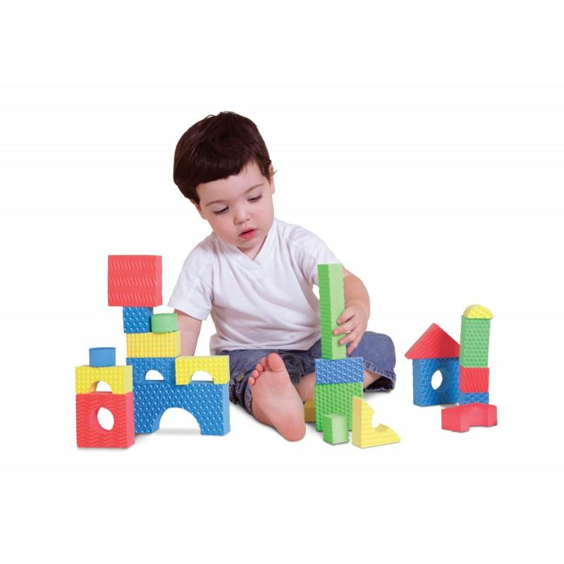 Textured Building Blocks - edu Kidz