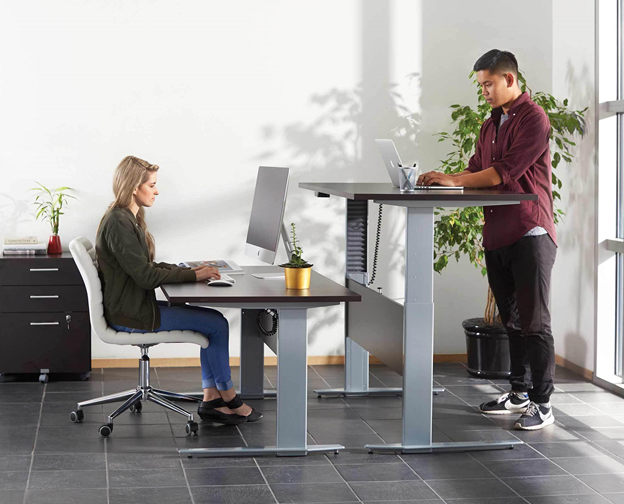 What are the Sit to stand desk gold coast requirements for office use?