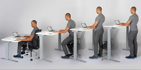 Sit to stand desk gold coast sample