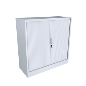 Tambour Door Storage Unit