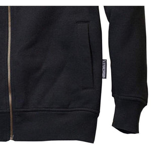 Men - Apparel - Activewear - Tops Men's Zip Hoodie In Black Fashion Madness