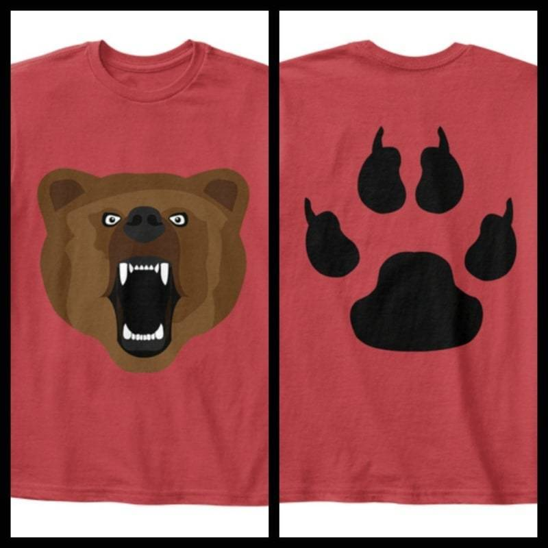 Kids - Boys - Apparel Brown Bear Youth T-Shirt Fashion Madness