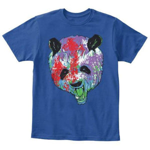 Kids - Boys - Apparel Colorful Panda Youth T-Shirt fashion clothing accessories shoes jewelry