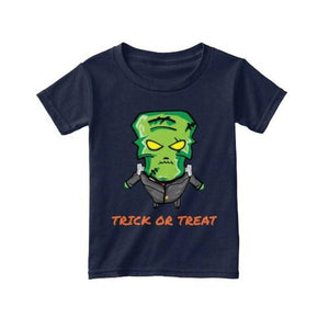 Kids - Boys - Apparel LITTLE FRANKENSTEIN TRICK OR TREAT T-SHIRT Fashion Madness