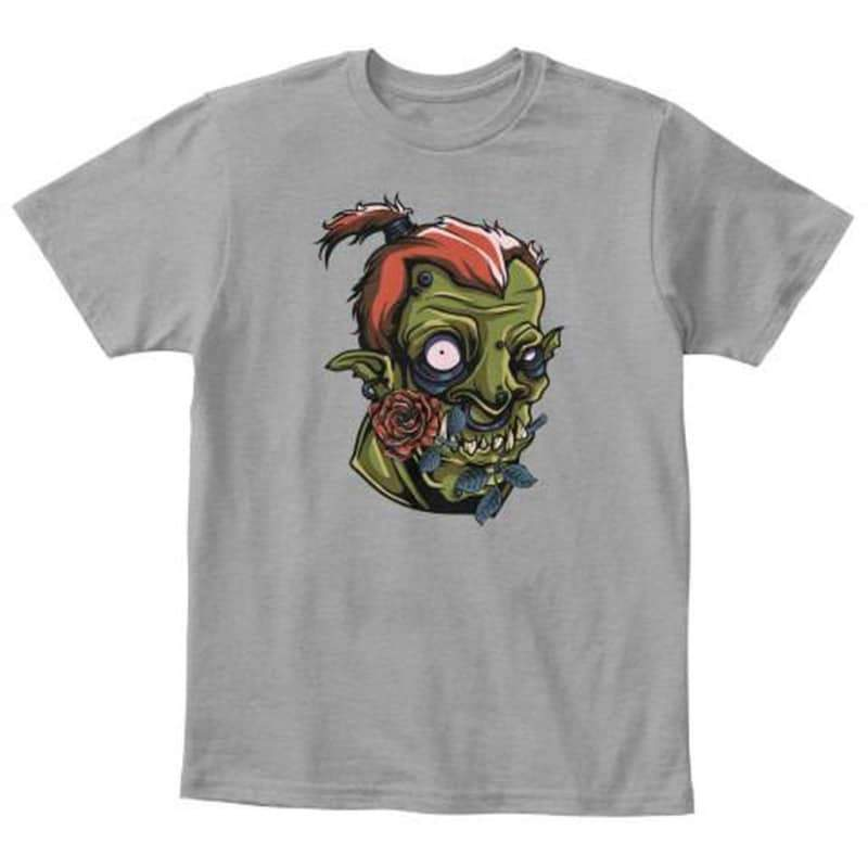 Kids - Boys - Apparel Scary Monster Youth T-Shirt Fashion Madness