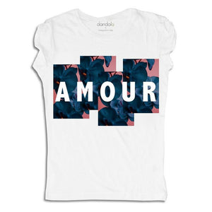 "Women - Apparel - Shirts - T-Shirts T-Shirt ""Floral Amour"" fashion clothing accessories shoes jewelry"