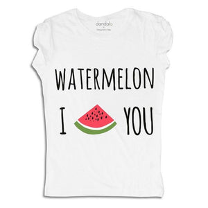 "Women - Apparel - Shirts - T-Shirts T-Shirt ""I Watermelon You"" fashion clothing accessories shoes jewelry"