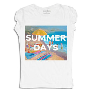 "Women - Apparel - Shirts - T-Shirts T-Shirt ""Summer Days"" fashion clothing accessories shoes jewelry"