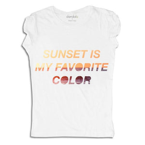 "Women - Apparel - Shirts - T-Shirts T-Shirt ""Sunset Is My Favorite Color"" fashion clothing accessories shoes jewelry"