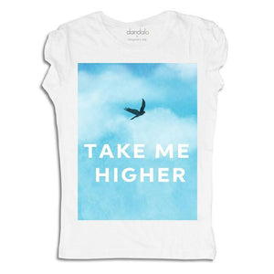 "Women - Apparel - Shirts - T-Shirts T-Shirt ""Take Me Higher"" fashion clothing accessories shoes jewelry"