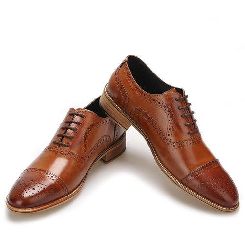 Men - Shoes - Oxfords High Quality  Leather Oxfords Shoes fashion clothing accessories shoes jewelry