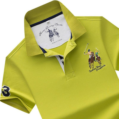 mens shirt white / M High Quality Men's Polo shirt (size M-4XL)